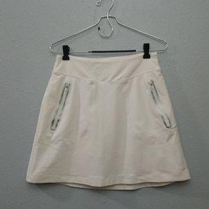 Nike Skirts - Nike Golf White Compression Skort Skirt No Sew